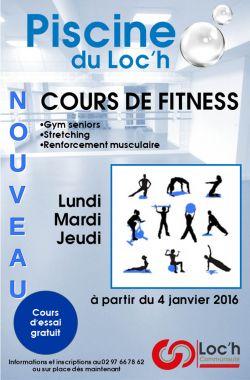 NOUVEAU : Cours de fitness et baby-gym